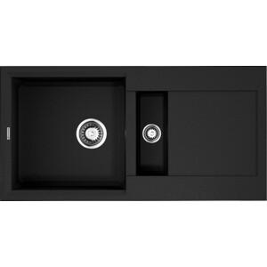 Кухонная мойка Omoikiri Sakaime 86-2-BL, 860х465, черный (4993117) картридж epson xl magenta xp33 203 303 c13t17134a10 page 1