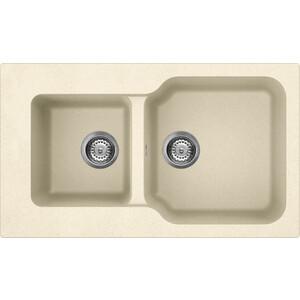 Кухонная мойка Omoikiri Maru 86-2-BE, 860х500, ваниль (4993285)