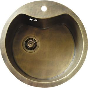 Кухонная мойка Omoikiri Sumida-51-BR, 510х510, бронза (4993054)