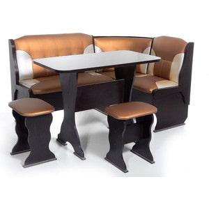 Набор мебели для кухни Бител ''ОРХИДЕЯ'' -КОМБИ (ВЕНГЕ, Т.эф.-109 + С.-101, ВЕНГЕ)