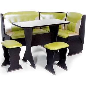 Набор мебели для кухни Бител ОРХИДЕЯ -КОМБИ (ВЕНГЕ, С.-105 + С.-101, ВЕНГЕ)