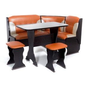 Набор мебели для кухни Бител ОРХИДЕЯ -КОМБИ (ВЕНГЕ, С.-120 + С.-101, ВЕНГЕ)