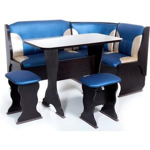 Набор мебели для кухни Бител ОРХИДЕЯ -КОМБИ (ВЕНГЕ, Т.эф.-114 + С.-101, ВЕНГЕ)