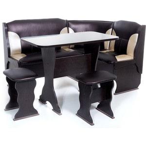 Набор мебели для кухни Бител ''ОРХИДЕЯ'' -КОМБИ (ВЕНГЕ, С.-221 + С-101, ВЕНГЕ)