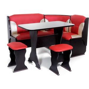 Набор мебели для кухни Бител ''ОРХИДЕЯ'' -КОМБИ (ВЕНГЕ, Т.эф.-112 + С-101, ВЕНГЕ)