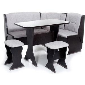 Набор мебели для кухни Бител Орхидея - однотонный (венге, ТР-1 тринити беж, венге) набор мебели для кухни бител орхидея однотонный венге борнео умбер венге
