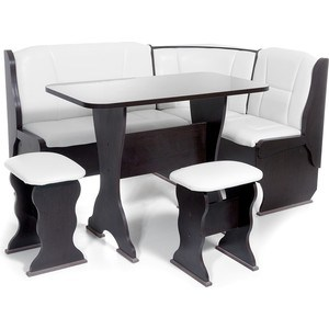 Набор мебели для кухни Бител ОРХИДЕЯ -ОДНОТОН (ВЕНГЕ, Борнео милк, ВЕНГЕ)
