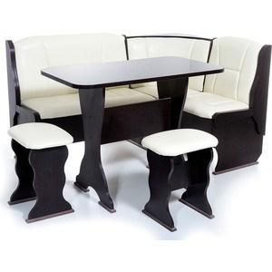 Набор мебели для кухни Бител ''ОРХИДЕЯ'' -ОДНОТОН (ВЕНГЕ, Борнео Крем, ВЕНГЕ)