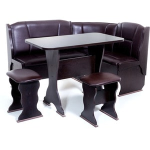 Набор мебели для кухни Бител Орхидея - однотонный (венге, Борнео умбер, венге)