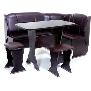 Набор мебели для кухни Бител ОРХИДЕЯ -ОДНОТОН (ВЕНГЕ, Борнео Умбер, ВЕНГЕ)