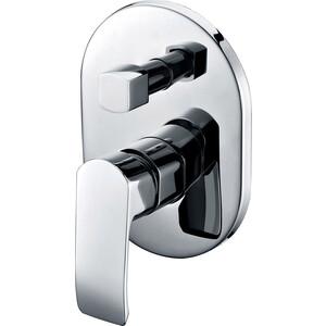 Смеситель для ванны скрытого монтажа Kaiser Aurora скрытый монтаж, хром (67277) смеситель для ванны коллекция saturn 42022 двухвентильный хром kaiser кайзер