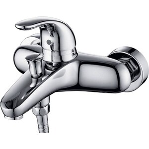 Смеситель для ванны Kaiser Safira короткий излив, хром (15022) смеситель для ванны коллекция vista 65122 однорычажный хром kaiser кайзер