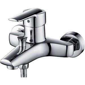 Смеситель для ванны Kaiser Orbit короткий излив с душем, хром (20022) цены онлайн