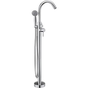 Смеситель для ванны Kaiser Merkur напольный, хром (26182) цена