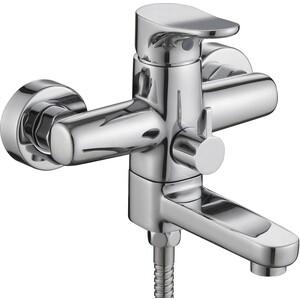 Смеситель для ванны Kaiser Vega короткий излив с душем, хром (63022) цены онлайн