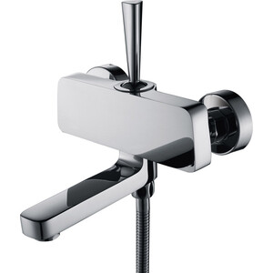 Смеситель для ванны Kaiser Vista поворотный излив, хром (65022) излив для смесителя l 40 см хром kaiser кайзер