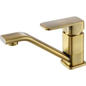Смеситель для раковины Kaiser Sonat 15 см, бронза Bronze (34010-1) смеситель для мойки коллекция sonat 34010 1g однорычажный античная бронза kaiser кайзер