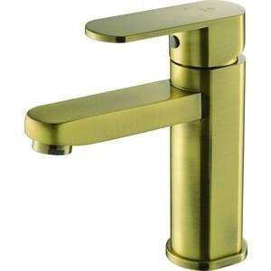 Смеситель для раковины Kaiser Sonat, бронза Antique (34011-1G) смеситель для мойки коллекция sonat 34010 1g однорычажный античная бронза kaiser кайзер