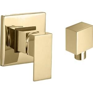 Смеситель для душа скрытого монтажа Kaiser Sonat скрытый монтаж, бронза Bronze (34177-1) смеситель для ванны коллекция sonat 34522 однорычажный хром kaiser кайзер