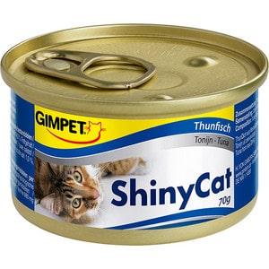 Консервы Gimborn Gimpet ShineCat Tuna тунец для кошек 70г (413280) gimpet shinycat консервированный корм для кошек тунец цыпленок 70 г