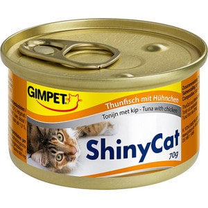Консервы Gimborn Gimpet ShineCat Tuna with Chicken тунец с цыпленком для кошек 70г (413303) chicken of the sea tuna