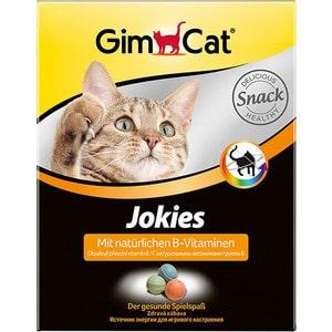 Витамины Gimborn Gimcat Jokies with Natural B-Vitamins шарики с натуральными витаминами группы B для кошек 400таб (408767) витамины группы б