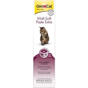 Витамины Gimborn Gimcat Malt-Soft Paste Extra Anti-Hairball Extra Fibre паста для вывода шерсти из желудка для кошек 200г (417127-407029) fluffy synthetic lolita curly flax mixed gold long side bang capless cosplay wig for women