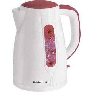 Чайник электрический Polaris PWK 1796C бело-красный