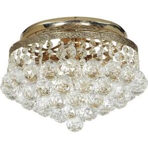 Потолочный светильник Lucia Tucci Cristallo 754.4.2 Gold