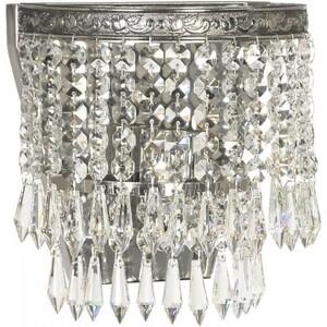 Настенный светильник Lucia Tucci Cristallo W751.1 Silver бордюр fap supernatural cristallo matita 2x30 5