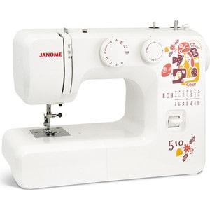 Швейная машина Janome Sew dream 510 швейная машина vlk napoli 2400