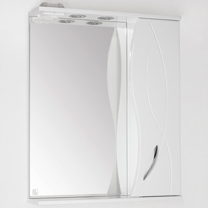 Зеркальный шкаф Style line Амелия 65 со светом (2000949067537)