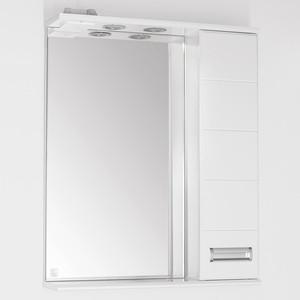 Зеркальный шкаф Style line Ирис 65 со светом (2000948995435) тумба под раковину style line ирис 65 3 ящ стелла 65 2000948996005