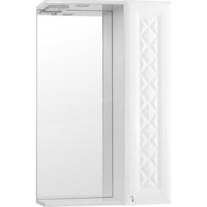 Зеркальный шкаф Style line Канна 50 со светом (2000949015200) комод style line канна 60 без ящика 2000949043289