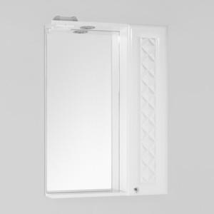 Зеркальный шкаф Style line Канна 60, люкс, со светом (2000949080376) зеркальный шкаф style line панда волна 60 со светом 2000949039916