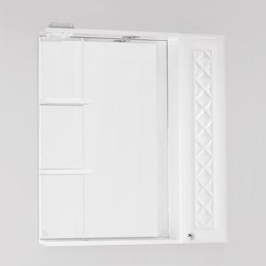 Зеркальный шкаф Style line Канна 75, люкс, со светом (2000949080383) зеркальный шкаф style line лира 70 со светом 2000941440017
