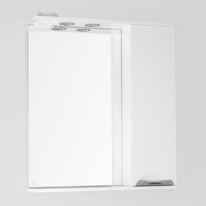 Зеркальный шкаф Style line Жасмин 70 со светом (2000949038698) зеркальный шкаф style line лира 70 со светом 2000941440017