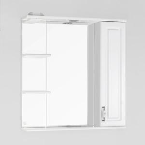 Зеркальный шкаф Style line Олеандр-2 75 со светом (2000949041056) зеркальный шкаф style line лира 70 со светом 2000941440017