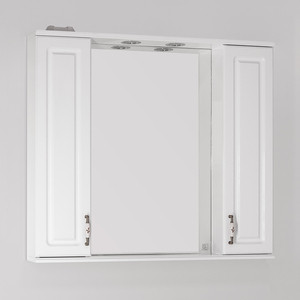 Зеркальный шкаф Style line Олеандр-2 90 со светом (2000949041599)