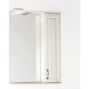 Зеркальный шкаф Style line Олеандр-2 55 со светом (2000949059273) зеркальный шкаф style line лира 70 со светом 2000941440017