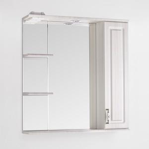 Зеркальный шкаф Style line Олеандр-2 75 со светом (2000949059686)