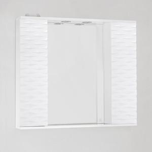 Зеркальный шкаф Style line Папирус 90 со светом (2000949077956) зеркальный шкаф style line ориноко 60 со светом 2000949083964
