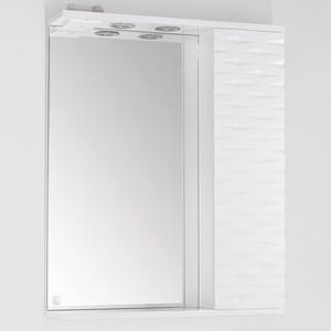 Зеркальный шкаф Style line Папирус 70 люкс, со светом (2000949080352) зеркальный шкаф style line лира 70 со светом 2000941440017
