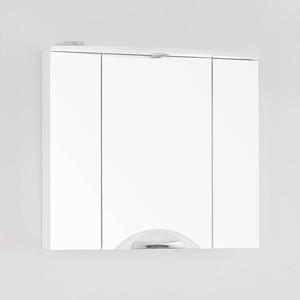 Зеркальный шкаф Style line Жасмин-2 76 со светом (2000949034102) зеркальный шкаф style line ориноко 60 со светом 2000949083964