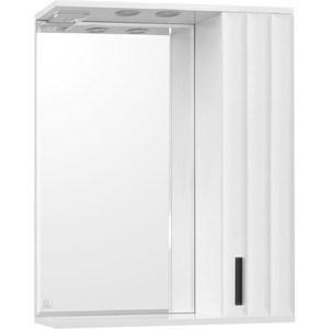 Зеркальный шкаф Style line Агава 70 со светом (2000949078724) зеркальный шкаф style line лира 70 со светом 2000941440017
