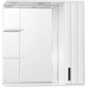 Зеркальный шкаф Style line Агава 80 со светом (2000949034447) матрас орматек agava 180х195 см