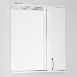 Зеркальный шкаф Style line Панда 65 Фьюжн со светом (2000949050829) зеркальный шкаф style line панда волна 60 со светом 2000949039916