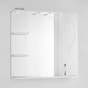 Зеркальный шкаф Style line Панда 80 Фьюжн со светом (2000949054674) зеркальный шкаф style line панда волна 60 со светом 2000949039916