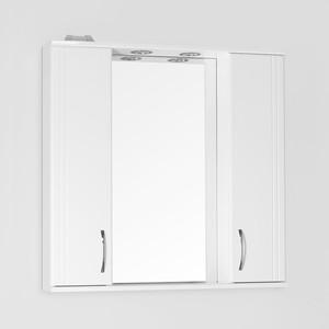 Зеркальный шкаф Style line Панда 80 со светом (2000948989236) зеркальный шкаф style line панда волна 60 со светом 2000949039916