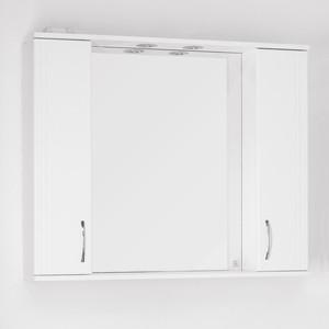 Зеркальный шкаф Style line Панда 100 со светом (2000948981339) зеркальный шкаф style line панда волна 60 со светом 2000949039916